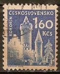 Sellos del Mundo : Europa : Checoslovaquia : Castillo (Kokorin).