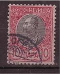 Stamps Europe - Serbia -  Rey Petar I