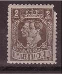 Stamps Europe - Serbia -  Petar I y Alek