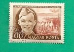 Stamps Hungary -  Scouts Acampada