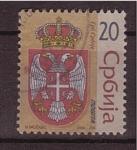 Stamps Europe - Serbia -  Escudo