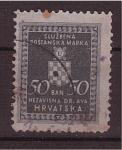 Sellos de Europa - Croacia -  escudo