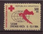 Stamps Croatia -  sello de caridad