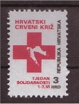 Stamps Croatia -  Sello de Caridad
