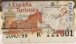 Stamps Spain -  ESPAÑA TURISTICA