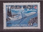 Stamps of the world : Croatia :  correo aéreo