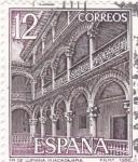 Sellos de Europa - España -  Turismo- Monasterio de Lupiana (Guadalajara) (6)
