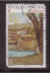 Stamps Croatia -  Ciudades de Croacia