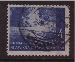 Sellos de Europa - Croacia -  r�o drina
