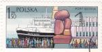 Sellos de Europa - Polonia -  Crucero el el puerto de Gdynia