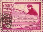 Sellos de America - Perú -  Sellos para Correo Aéreo. Jorge Chávez (1887-1910).