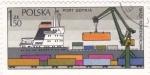 Sellos de Europa - Polonia -  Puerto de Gdynia
