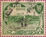 Sellos del Mundo : America : Perú : Servicio Aéreo. Iquitos.