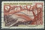 Sellos del Mundo : Europa : Francia :  Presa de Vouglans (Jura)