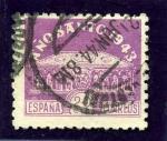 Sellos de Europa - España -  Año Santo Compostelano. Sepulcro