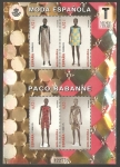 Stamps Spain -  Paco Rabanne, modisto