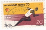 Sellos de Europa - Italia -  UNIVERSIADA TORINO '70
