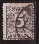 Sellos de Europa - España -  derecho de entrega