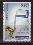 Stamps Spain -  serie- valores cívicos