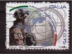 Sellos de Europa - Italia -  Misión militar italiana en el exterior