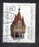 Sellos del Mundo : Europa : Alemania : 500 Años Ayuntamiento Michelstadt