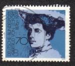 Sellos del Mundo : Europa : Alemania : Gertrud Von Le Fort 1876-1971
