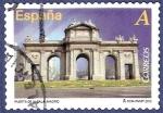 Stamps Spain -  Edifil 4682 Arcos y puertas monumentales: Puerta de Alcalá A (2)