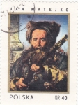 Stamps of the world : Poland :  PINTURA DE JAN MATEJKO