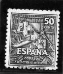Stamps Spain -  IV Centenario del Nacimiento de Cervantes