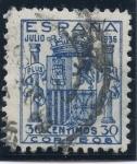 Sellos de Europa - España -  ESPAÑA 801 ESCUDO DE ESPAÑA
