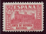Stamps : Europe : Spain :  ESPAÑA 808A JUNTA DE DEFENSA NACIONAL