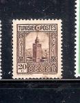 Sellos de Africa - Túnez -  La Gran Mezquita
