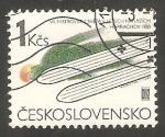 Sellos de Europa - Checoslovaquia -  2529 - VII campeonato mundial de saltos de esquí
