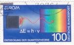 Stamps Germany -  EUROPA-TEORÍA QUANTICA