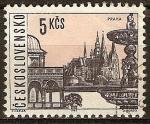 Sellos de Europa - Checoslovaquia -  Praga.