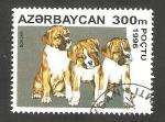 Stamps Azerbaijan -  Perro de raza