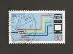 Sellos de Europa - Alemania -  Transmisión de datos