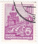 Stamps : Europe : Germany :  CATEDRAL DE DRESDEN