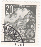 Stamps : Europe : Germany :  ENSEÑANZA