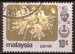 Sellos del Mundo : Asia : Malasia :  Flores (Durio zibethinus).