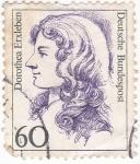 Stamps : Europe : Germany :  DOROTHEA ERXLEBEN-  médica