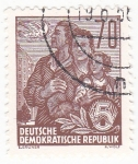 Stamps : Europe : Germany :  FAMÍLIA
