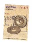Sellos de Europa - España -  Instrumentos musicales.Platillos