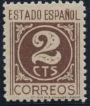 Sellos de Europa - España -  ESPAÑA 815 CIFRAS. CID E ISABEL