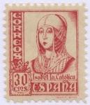 Stamps Spain -  ESPAÑA 823A CIFRAS. CID E ISABEL