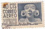 Stamps of the world : Mexico :  ARQUEOLOGÍA- SAN LUIS DE POTOSÍ