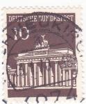 Stamps Germany -  PUERTA DE BRANDERBURGO