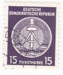Stamps : Europe : Germany :  ESCUDO DE LA REPÚBLICA