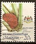 Sellos del Mundo : Asia : Malasia : Aceite de palma.