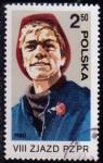 Sellos de Europa - Polonia -  2495  8º congreso Partido obrero unificado polaco